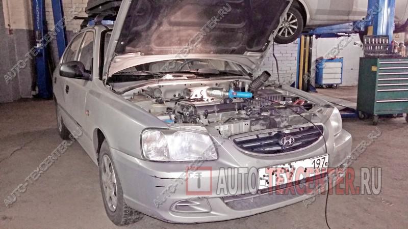 Замена радиатора печки Hyundai Accent