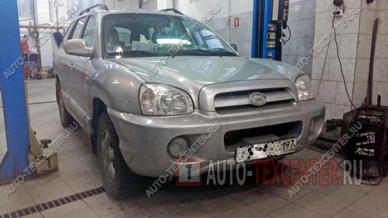 Замена жидкости ГУР Hyundai Santa Fe