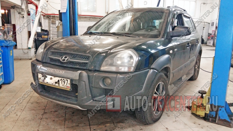 Замена насоса ГУР Hyundai Tucson