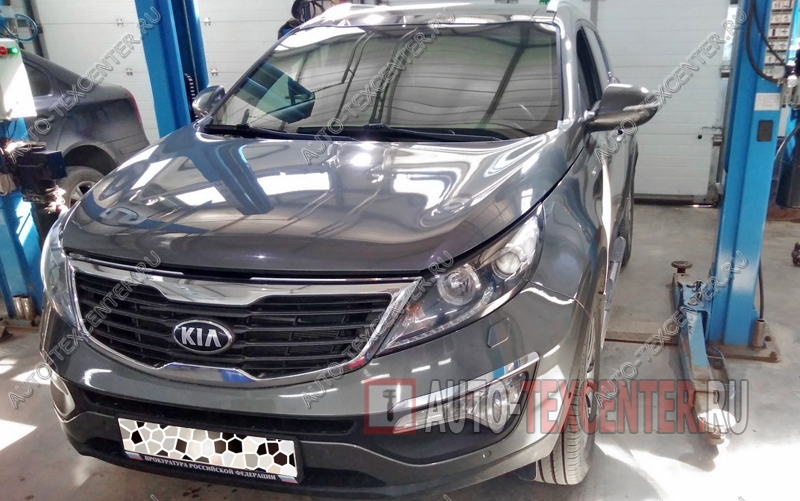 Замена тормозной жидкости Kia Sportage 3