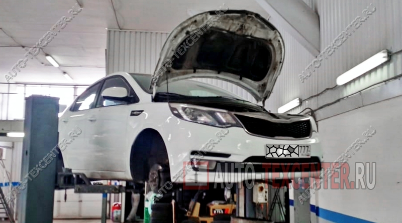 Замена тормозных дисков Kia Rio 3