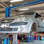 Замена ШРУСа Hyundai Getz
