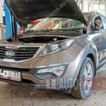 Замена масла в МКПП Kia Sportage