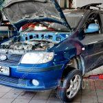 Замена рычагов Hyundai Matrix