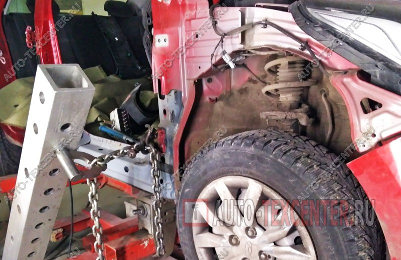 Кузовной ремонт Hyundai Solaris 2