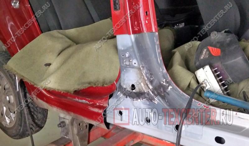 кузовной ремонт Хендай Солярис 2