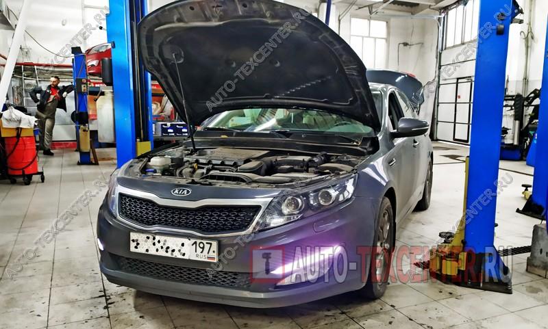 Замена свечей зажигания Kia Optima