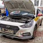 Замена датчика коленвала Hyundai Solaris (цена)