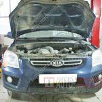 Замена сцепления Kia Sportage 2
