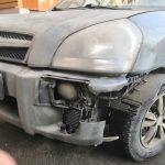 Замена переднего бампера Hyundai Tucson