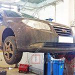 Замена подшипника ступицы Hyundai Elantra