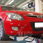 Сход развал Hyundai I30