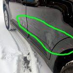 покраска дверей Hyundai Creta  2018