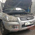 Замена компрессора кондиционера Kia Sportage