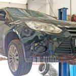 Замена тормозных колодок и дисков Форд