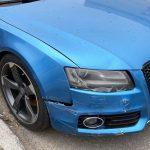 Ремонт бампера Audi S5