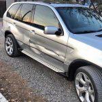 покраска двери BMW X5, 2001