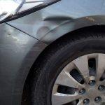 ремонту и покраска переднего бампера Kia Cerato