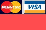 Мы принимаем к оплате Visa и Master Card