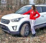 Hyundai Крета белый