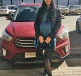 Hyundai Creta красный
