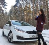 Kia Ceed JD 5 door белый